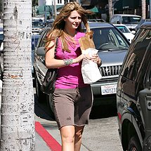 Shorts camel toe of sexy Mischa Barton